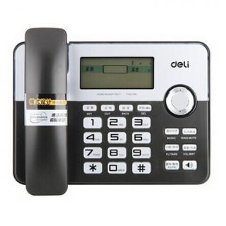 禧发老虎机(deli)795 固定电话/电话机 黑色